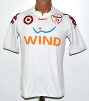 AS ROMA ITALY 2007/2008 AWAY FOOTBALL SHIRT JERSEY KAPPA SIZE L ADULT