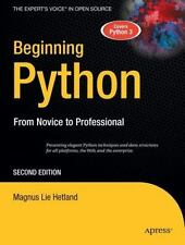 Beginning Python: From Novice to Professional, 2nd Edition (The Experts Voice in