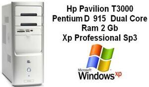 Pc Hp Pavilion T3000 Pentium Dual Dual Core Ram 2Gb Xp Prof Sp3 MB Asus P5LP-LE