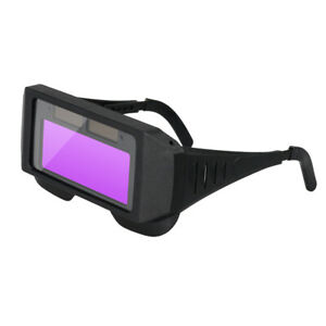 Automatic Dimming Goggles Argon Arc Welding Glasses for Welder Eye Prote UK