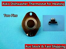 Asko Dishwasher Spare Parts Thermostat for Heating Replacement 2 pin (D123) Used