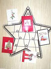 large metal star notice board card holder memo message board holds upto 164 ****