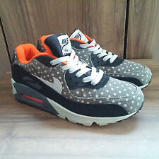 Used NIKE AIR MAX POLKA-DOT Leather Premium 666578 006 EUR 41 US 8 UK 7 Grey