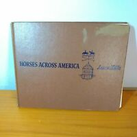 Horses Across America by Jeanne Mellin 1953 FIRST EDITION, See Disc