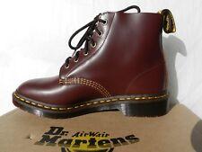 Dr Martens 101 Arc Chaussures Femme Homme 41 Bottes Bottines Oxblood UK7 Neuf