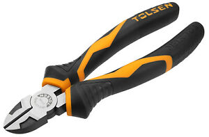 """Tolsen Diagonal Cutting Pliers Side Cutters Wire Cable Cutter Snips 6"""" or 7"""""""