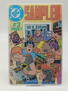 DC Sampler #3 Preview of John Constantine Swamp Thing #37 HIGH GRADE FREE SHIP!