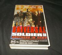 Universal Soldier 2 VHS PAL Gary Busey