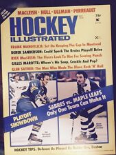 5/74 Hockey Illustrated Magazine Perreault Ullman Sabres Maple Leafs