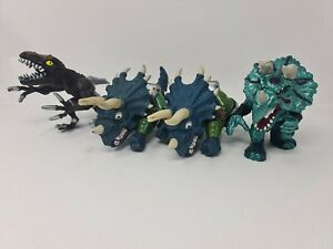Street Sharks Extreme Dinosaurs Bundle 4 Items 1990s Used Condition