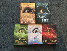 Lot of Five books The Last Dragon Chronicles (The Fire Within etc) Chris d'Lacey