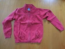 Mädchen Jacke Strick Pullover Größe 122 Farbe Rot