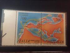 2 Francobolli - Italia 1990 - Celebrazione Colombiane