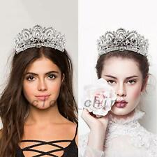 Luxury Bridal Wedding Rhinestone Crown Tiara Headband Hair Accessory Prom