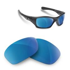 Polarized Replacement Lenses for Oakley pitbull blue mirror color