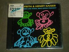 Fred Frith & Henry Kaiser With Enemies Like These, Who Needs Friends? sealed