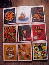 Vintage TIME Life Books Foods of the World 9 SETS Hard Cover, Spiral, JACKETS