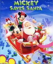 Mickey Mouse Clubhouse: Mickey Saves Santa 2006 Disney Channel new DVD Christmas