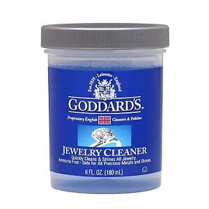 JEWELLERY CLEANER Goddards Jewellery Care Kit 180ml - Instantly Cleanes