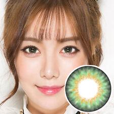Lentilles de Contact Vert Color Contact Circle Lenses DIA15mm BaGr