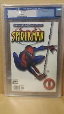 ULTIMATE SPIDER-MAN #1 LIMITED WHITE VARIANT (CGC GRADED 9.6 NM+ WP)