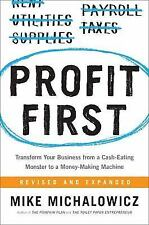 Profit First: Transform Your Business from a Cash-Eating Monster (Hardcovr Book)