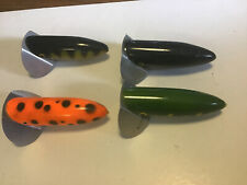 4 X Ace/gordon Griffith Tip Top Surface Crawler Lures For Pike