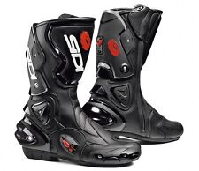 SIDI RACING VERTIGO STIVALI MOTO BOOTS NERO-NERO BLACK-BLACK TAGLIA-SIZE 39-50