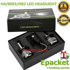 2x H4 Hi/Lo Beam 6000LM 60W LED Light Headlight HB2 Car Bulb Kit 6000k 9003