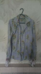 Ted BAKER Flowery Shirt Size 3