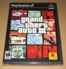 Grand Theft Auto III 3 (Sony PlayStation 2) Brand New / Fast Shipping