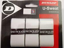 Dunlop U-Sweat Overgrip Grips Tennis Badminton 2 packs, NEW