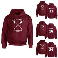 Mode Hommes Fin Pull-over Beacon Hills Teen Wolf Lacrosse Sweat À Capuche Pull