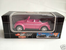 Dickie 1:60 scale VW Beetle Käfer Convertible - pink