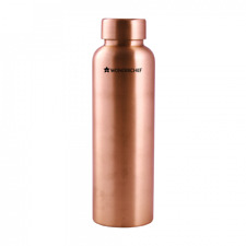 Wonderchef Copper Pure Water Bottles 1 Litre Bottle, Free Worldwide Shipping