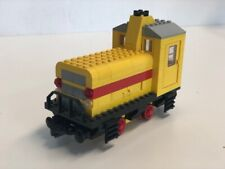 LEGO MOC 12-V-Lok mit x469bopen-Motor gelb | locomotive with x496b-motor yellow
