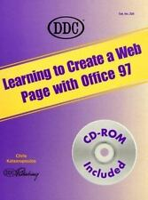 Learning to Create a Web Page with Microsoft Office 97 (Learning) by DDC Publis