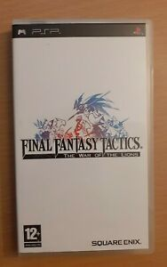 ● Final Fantasy Tactics : The War Of The Lions COMME NEUF Sony Psp