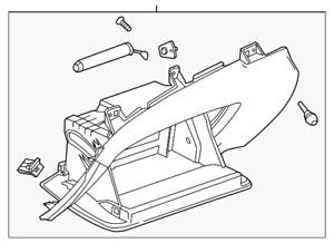 Genuine GM Glove Box Assembly 22883562