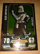 Force Attax Star Wars Serie 3 Star-Karte 214 Klon-Captain Rex Sammelkarte