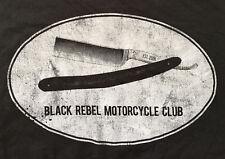 Black Rebel Motorcycle Club Band Shirt, Straight Razor, Dark Gray, Men's 2XL