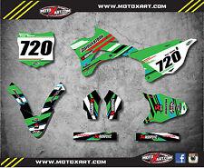 2014 - 2017 Kawasaki KX 85 custom graphics kit RUFF STYLE decals sticker kit