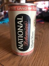 New listing National Bohemian Light Beer 12oz Bottom Opened Can.