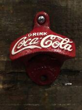 Coke Red Cast Repro Bottle Opener