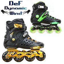 New Kingdom GB™ DLF Unisex Slalom Freestyle Speed Fitness Inline Roller Skates