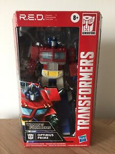 OPTIMUS PRIME Transformers Generations R.E.D. Walmart Exclusive - New/Sealed Box