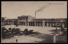 cartolina BARI stazione ferroviaria
