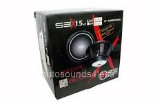 "RE Audio SEXv2-15D2 SE-X v2 Series 750 Watts 15"" Dual 2 Ohm Car Audio Subwoofer"