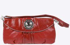Designer Kathy Van Zeeland Red Shoulder Bag