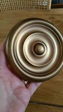 Laura Ashley Large Antique Brass Finish Curtain Hold Back